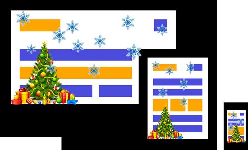 Xmas decoration - A WordPress plugin developed by ByConsole